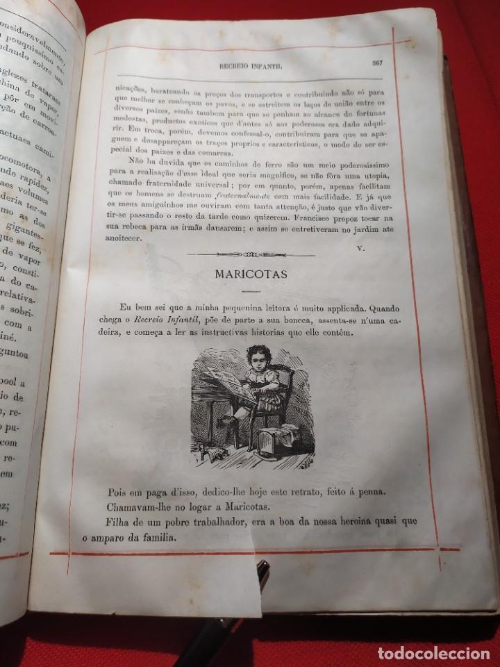Libros antiguos: 1876. Biblioteca de Educaçao e Recreio. Completo. Raro. - Foto 22 - 238104215