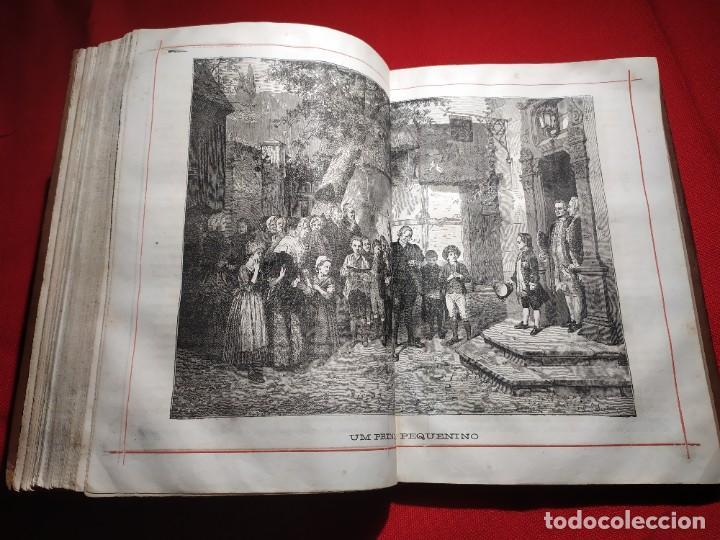 Libros antiguos: 1876. Biblioteca de Educaçao e Recreio. Completo. Raro. - Foto 24 - 238104215