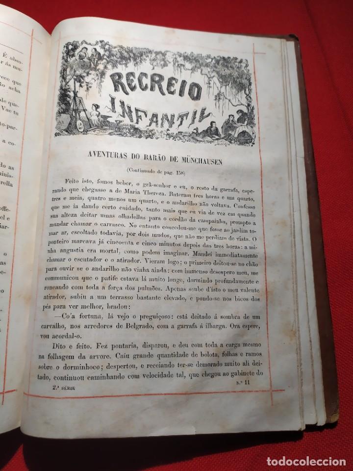 Libros antiguos: 1876. Biblioteca de Educaçao e Recreio. Completo. Raro. - Foto 28 - 238104215