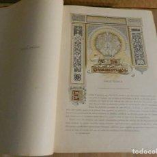 Libros antiguos: HISTORIA GENERAL DEL ARTE - MONTANER Y SIMON 1897 - VOLUMEN Nº 5 - ORNAMENTACIÓN - HELIOGRAFÍAS. Lote 238107085