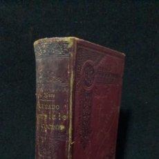 Libri antichi: EL PRACTICON. TRATADO COMPLETO DE COCINA,TEORIA Y PRACTICA. ANGEL MURO. 1894. Lote 239362985