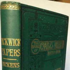 Libros antiguos: THE POSTHUMOUS PAPERS OF THE PICKWICK CLUB. - DICKENS, CHARLES.. Lote 239371540
