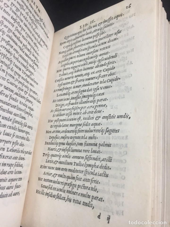 Libros antiguos: 1518 Ioannis Ioviani Pontani. Amorum libri De amore coniugali, Tumulorum, edición original Latín - Foto 9 - 239399620