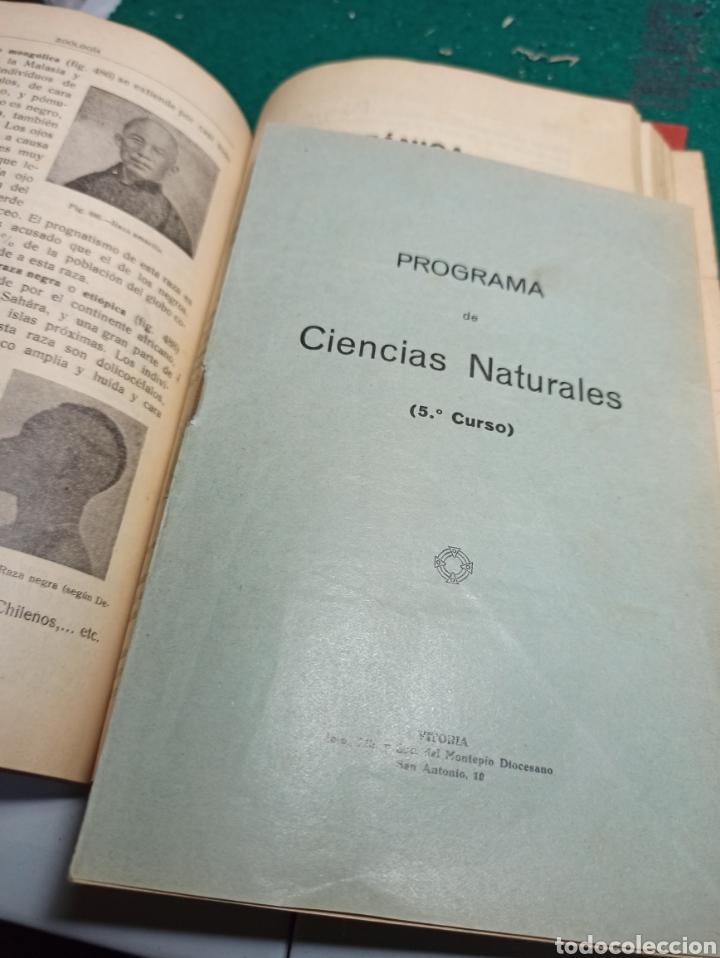 Libros antiguos: Ciencias Naturales. Historia Natural quinto curso. Justo Ruiz de Azua. 1936 - Foto 4 - 239462000