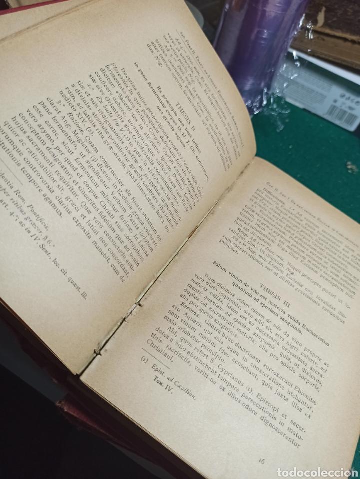 Libros antiguos: Theologiae scholastico dogmaticae. Tomo 4 . 1897 - Foto 2 - 239515470