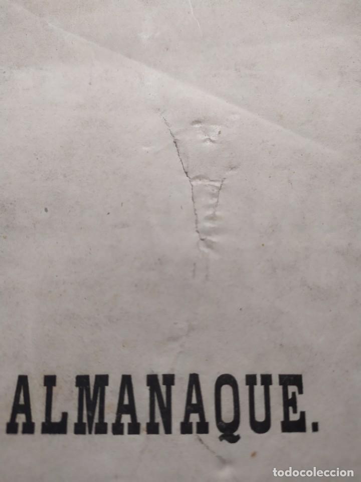 Libros antiguos: 1863. Almanaque literario del Ateneo Catalán para 1864. - Foto 3 - 239732785