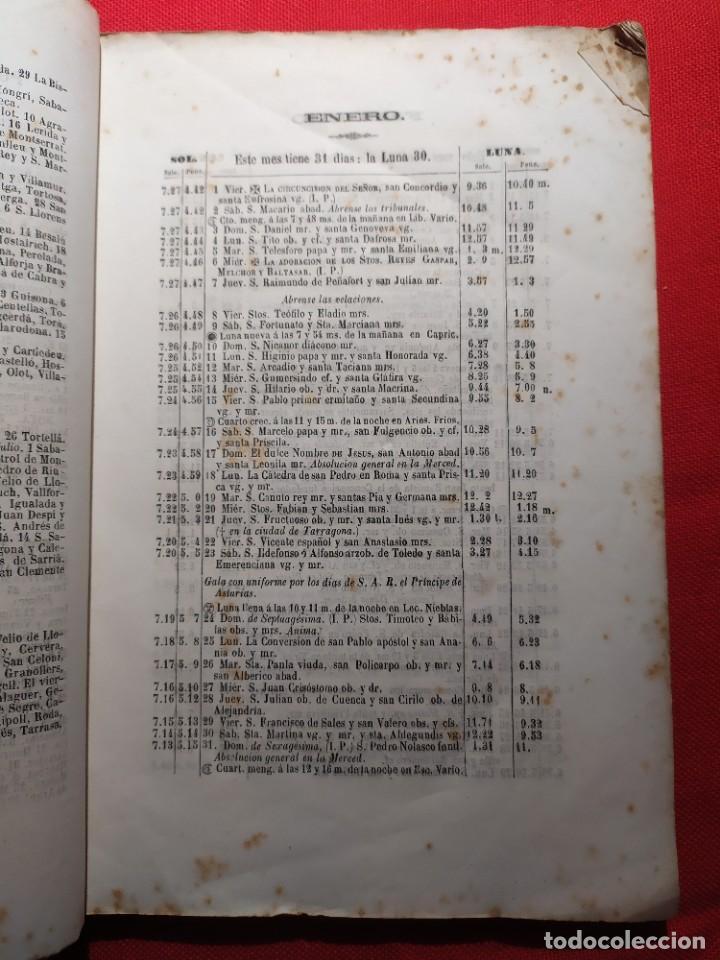 Libros antiguos: 1863. Almanaque literario del Ateneo Catalán para 1864. - Foto 5 - 239732785