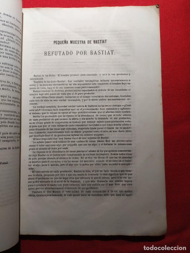 Libros antiguos: 1863. Almanaque literario del Ateneo Catalán para 1864. - Foto 8 - 239732785