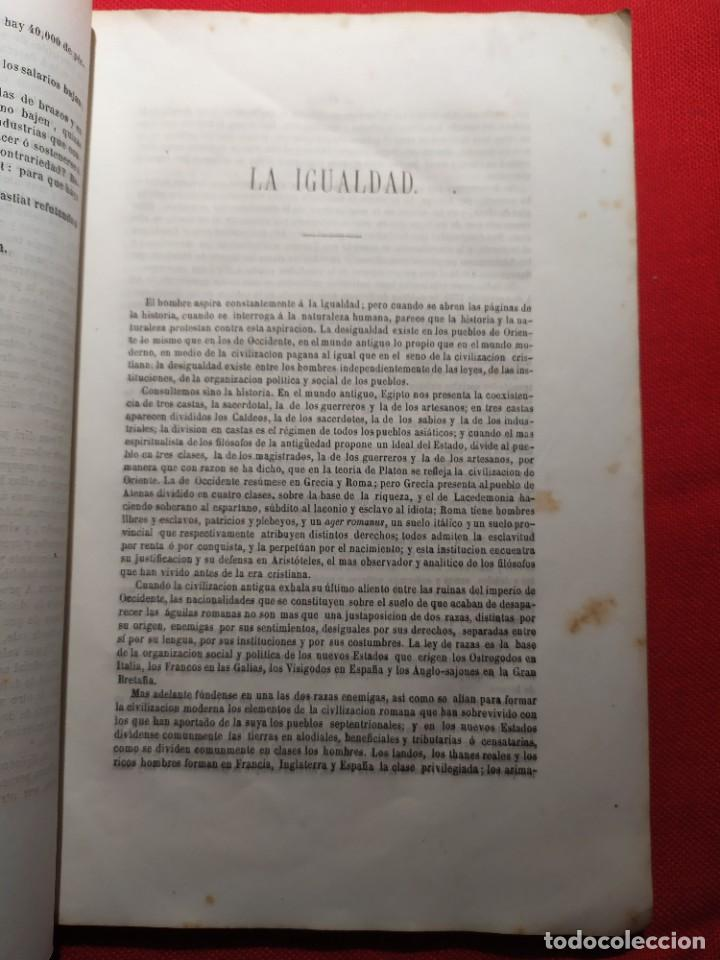 Libros antiguos: 1863. Almanaque literario del Ateneo Catalán para 1864. - Foto 9 - 239732785
