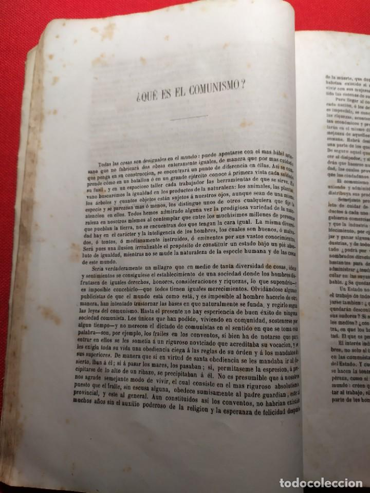 Libros antiguos: 1863. Almanaque literario del Ateneo Catalán para 1864. - Foto 10 - 239732785