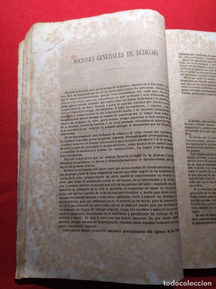 Libros antiguos: 1863. Almanaque literario del Ateneo Catalán para 1864. - Foto 11 - 239732785