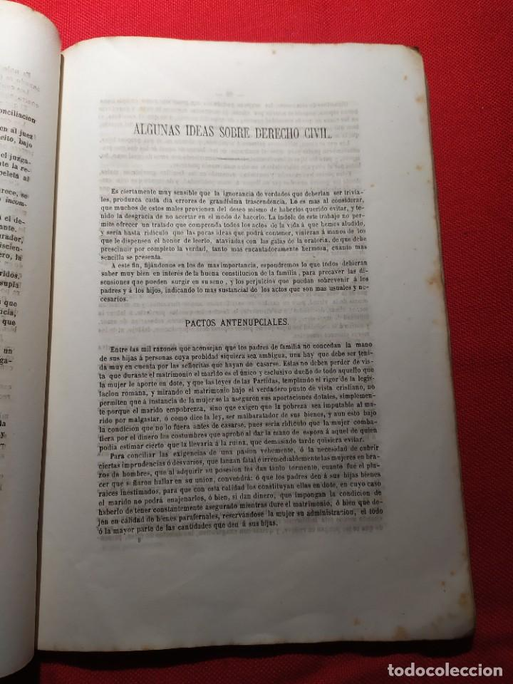 Libros antiguos: 1863. Almanaque literario del Ateneo Catalán para 1864. - Foto 12 - 239732785