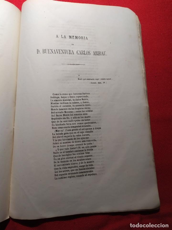 Libros antiguos: 1863. Almanaque literario del Ateneo Catalán para 1864. - Foto 15 - 239732785