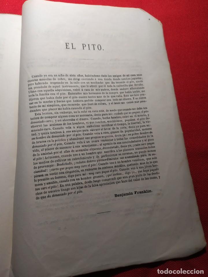 Libros antiguos: 1863. Almanaque literario del Ateneo Catalán para 1864. - Foto 19 - 239732785