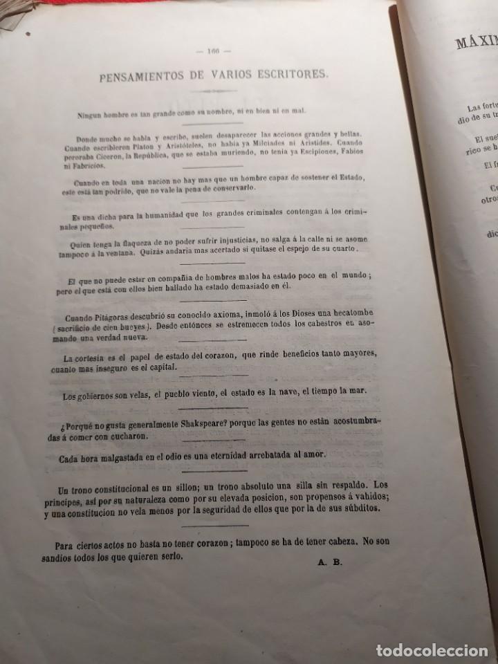 Libros antiguos: 1863. Almanaque literario del Ateneo Catalán para 1864. - Foto 20 - 239732785