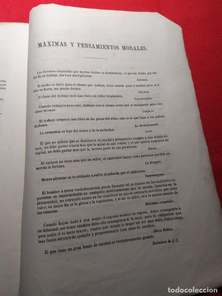 Libros antiguos: 1863. Almanaque literario del Ateneo Catalán para 1864. - Foto 21 - 239732785