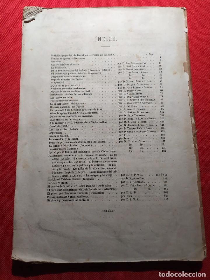 Libros antiguos: 1863. Almanaque literario del Ateneo Catalán para 1864. - Foto 22 - 239732785