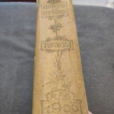 Libros antiguos: BLANCO Y NEGRO AÑO 1906. Lote 239850795