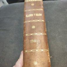 Libros antiguos: BLANCO Y NEGRO 1901 (DE ENERO A DICIEMBRE). Lote 239856630