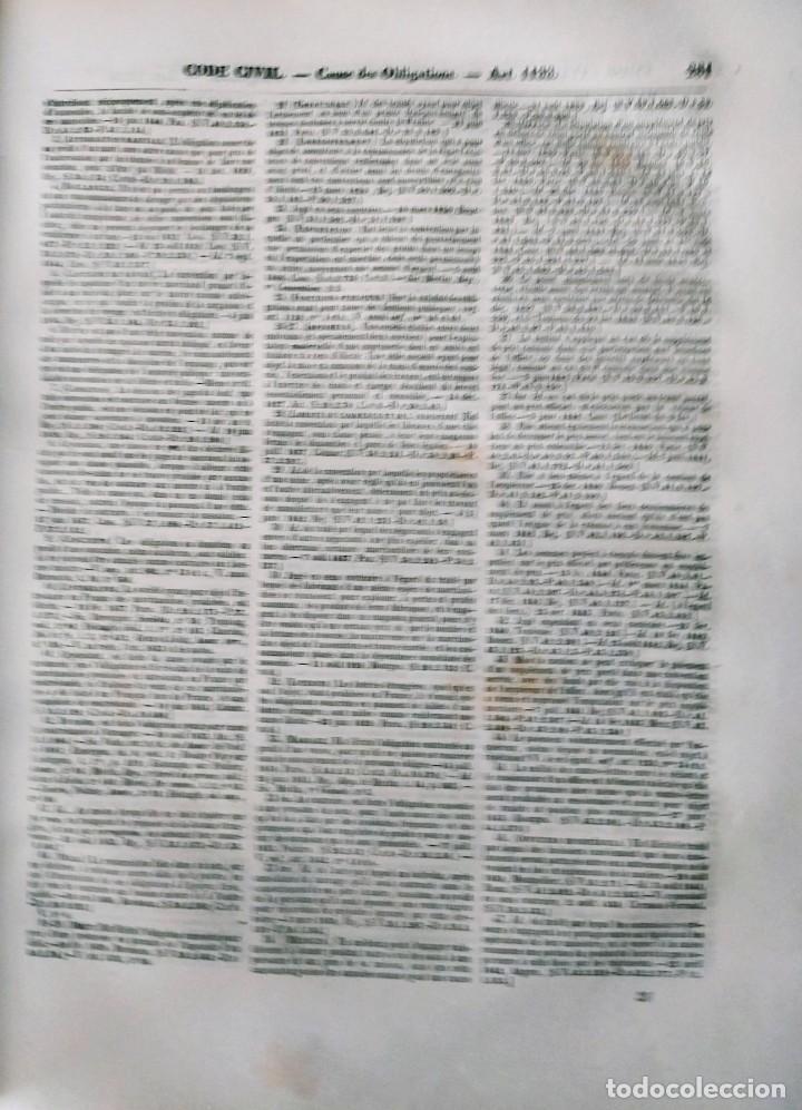 Libros antiguos: SIREY CODES NAPOLEON 1859 CODE CIVIL - Foto 2 - 240036480