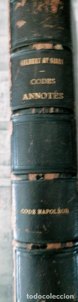 Libros antiguos: SIREY CODES NAPOLEON 1859 CODE CIVIL - Foto 8 - 240036480