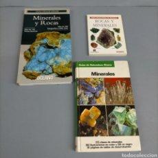Libros antiguos: 6 LIBROS IDENTIFICACIÓN MINERALES. COLECCIONISMO MINERALES MINERAL. Lote 240050155