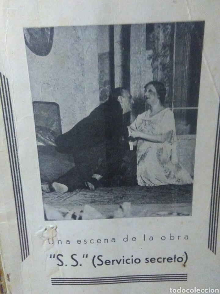 Libros antiguos: Libro comedia 1935 ,SS servicio secreto ,antonio estremera y rafael G,valdes - Foto 9 - 240084290