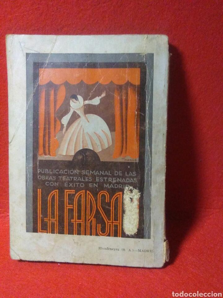 Libros antiguos: Libro comedia 1935 ,SS servicio secreto ,antonio estremera y rafael G,valdes - Foto 10 - 240084290