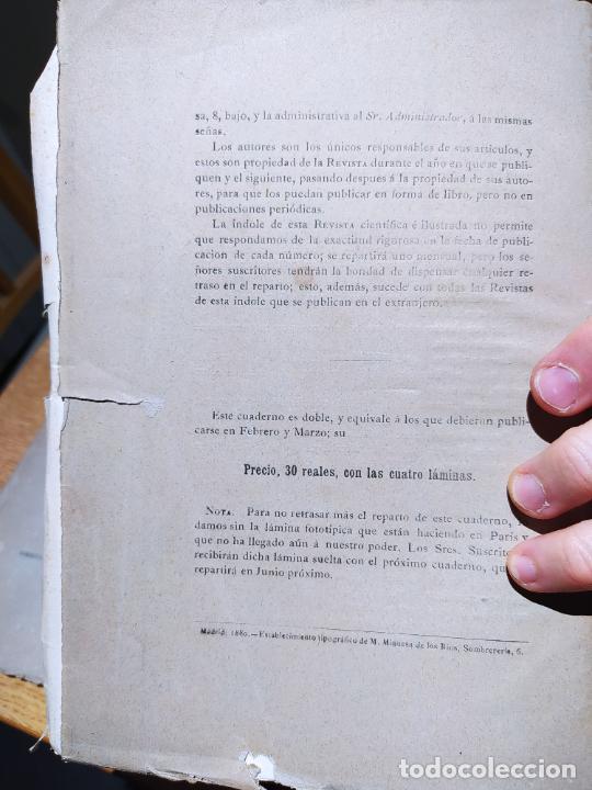 Libros antiguos: Revista de Arqueologia española. Numero 1, 2 y 3. 1880. RARISIMAS. - Foto 5 - 240495960