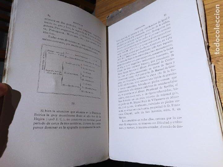 Libros antiguos: Revista de Arqueologia española. Numero 1, 2 y 3. 1880. RARISIMAS. - Foto 6 - 240495960