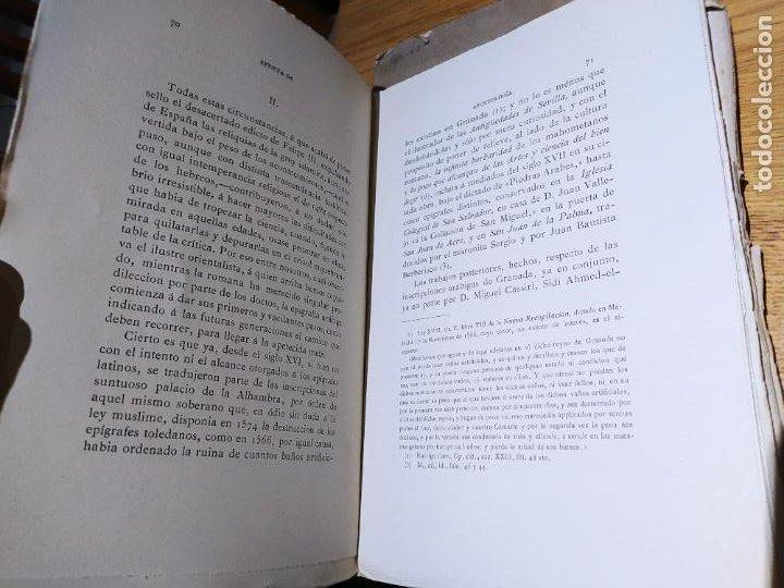 Libros antiguos: Revista de Arqueologia española. Numero 1, 2 y 3. 1880. RARISIMAS. - Foto 7 - 240495960