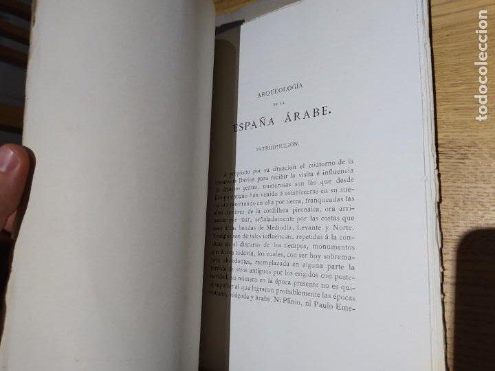 Libros antiguos: Revista de Arqueologia española. Numero 1, 2 y 3. 1880. RARISIMAS. - Foto 9 - 240495960