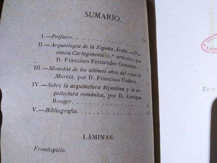 Libros antiguos: Revista de Arqueologia española. Numero 1, 2 y 3. 1880. RARISIMAS. - Foto 11 - 240495960