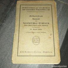 Libros antiguos: LIBRO AÑO 1904 PRAPARATONEN LSTEINEFCHENVDICHTERN. Lote 240511085
