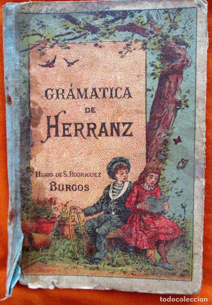 GRAMATICA DE HERRANZ (Libros Antiguos, Raros y Curiosos - Ciencias, Manuales y Oficios - Otros)