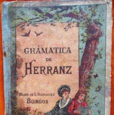Libros antiguos: GRAMATICA DE HERRANZ. Lote 52975834