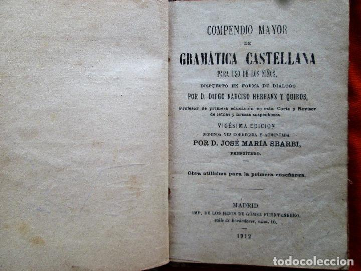 Libros antiguos: GRAMATICA DE HERRANZ - Foto 4 - 52975834