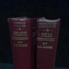 Libros antiguos: 2 LIBROS - SIEMPRE ADELANTE Y ABRIRSE PASO - 1915 - ORISON SWEET MARDEN. Lote 240677975