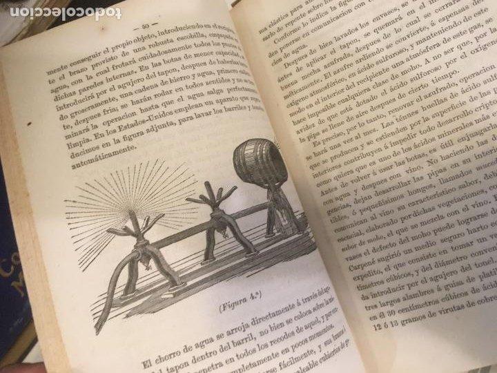 Libros antiguos: Fabricación mejoramiento y conservación de los vinos Españoles B. Aragó 1878 ,primera edicion - Foto 7 - 240700290
