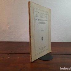 Libros antiguos: PROPIETATS DELS GASOS ULTRAENRARITS - J. PALACIOS - INSTITUT D'ESTUDIS CATALANS, NO CONSTA ANY, BCN. Lote 240897780