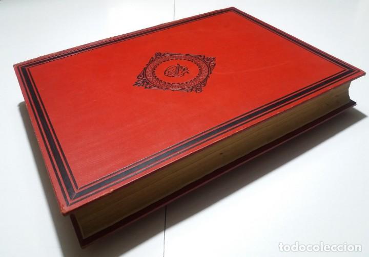 Libros antiguos: FABULOSO Y EXCEPCIONAL LIBRO ILUSTRACION ARTISTICA 110 AÑOS MONUMENTAL 40 cm - Foto 10 - 240999385