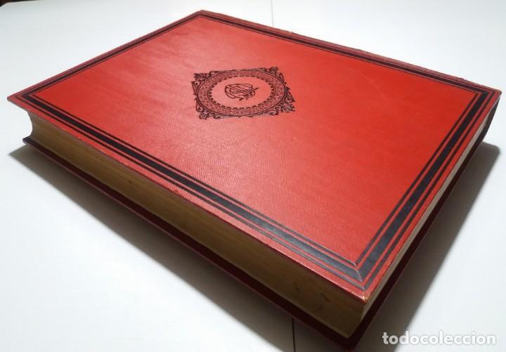Libros antiguos: FABULOSO Y EXCEPCIONAL LIBRO ILUSTRACION ARTISTICA 110 AÑOS MONUMENTAL 40 cm - Foto 11 - 240999385