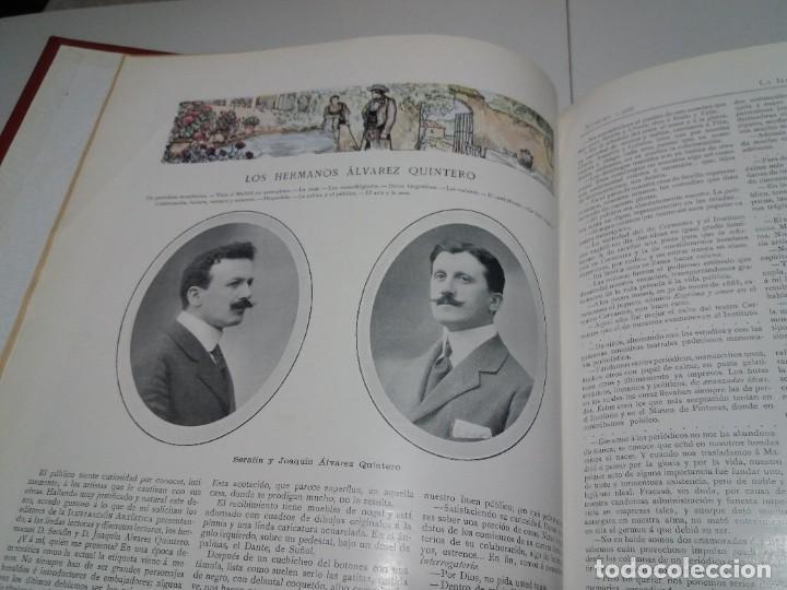 Libros antiguos: FABULOSO Y EXCEPCIONAL LIBRO ILUSTRACION ARTISTICA 110 AÑOS MONUMENTAL 40 cm - Foto 15 - 240999385