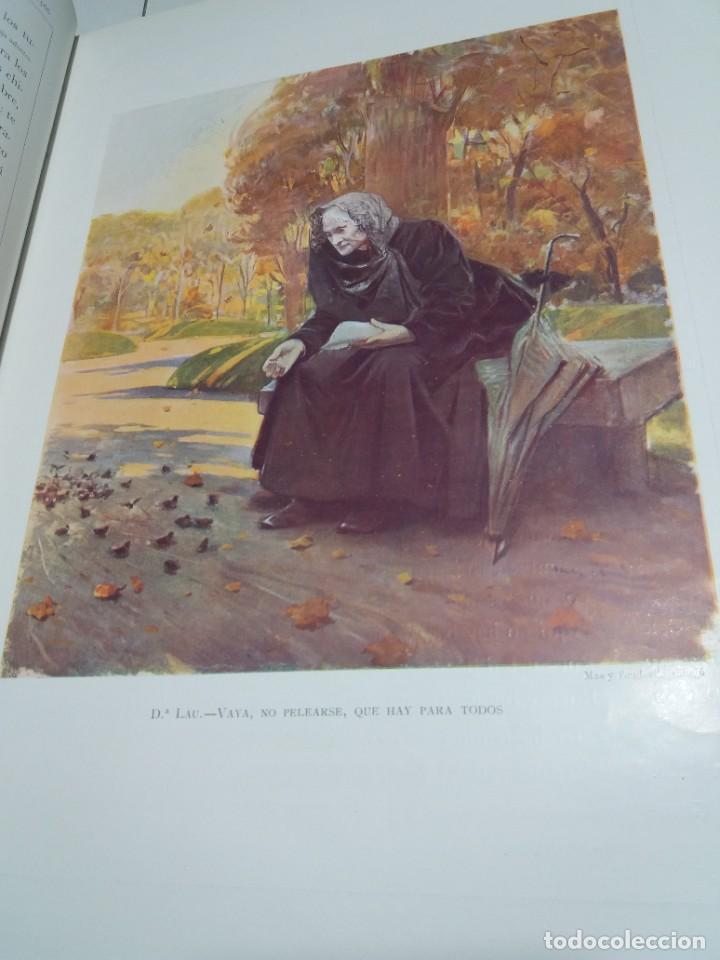 Libros antiguos: FABULOSO Y EXCEPCIONAL LIBRO ILUSTRACION ARTISTICA 110 AÑOS MONUMENTAL 40 cm - Foto 17 - 240999385