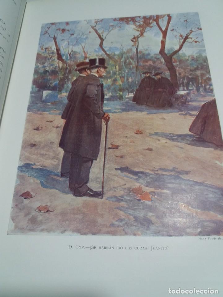 Libros antiguos: FABULOSO Y EXCEPCIONAL LIBRO ILUSTRACION ARTISTICA 110 AÑOS MONUMENTAL 40 cm - Foto 18 - 240999385