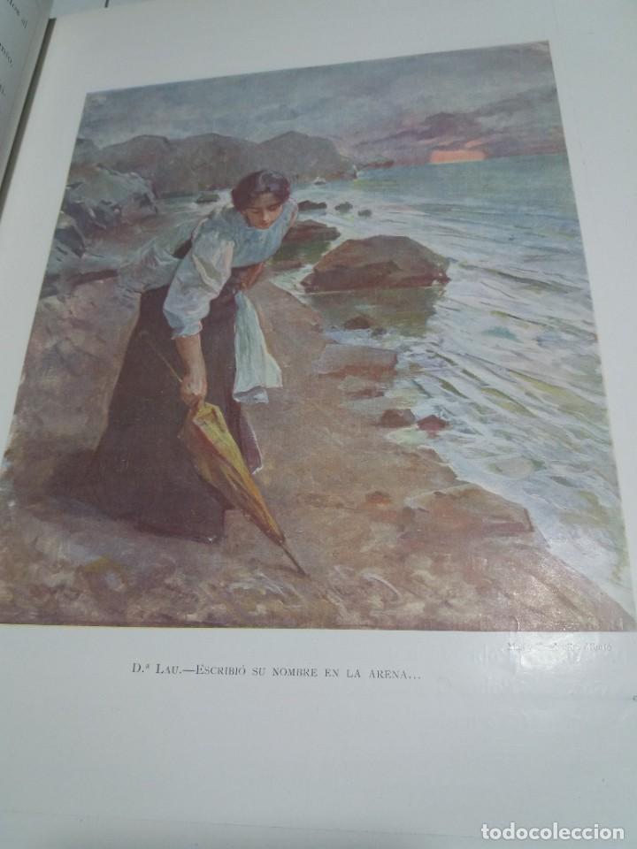 Libros antiguos: FABULOSO Y EXCEPCIONAL LIBRO ILUSTRACION ARTISTICA 110 AÑOS MONUMENTAL 40 cm - Foto 23 - 240999385