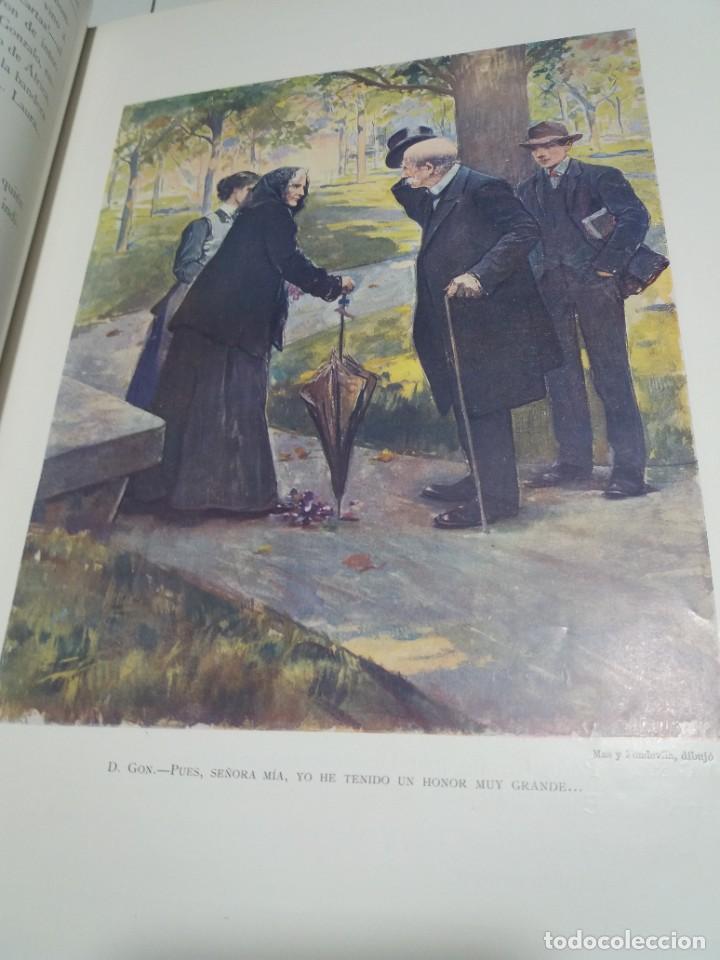 Libros antiguos: FABULOSO Y EXCEPCIONAL LIBRO ILUSTRACION ARTISTICA 110 AÑOS MONUMENTAL 40 cm - Foto 24 - 240999385