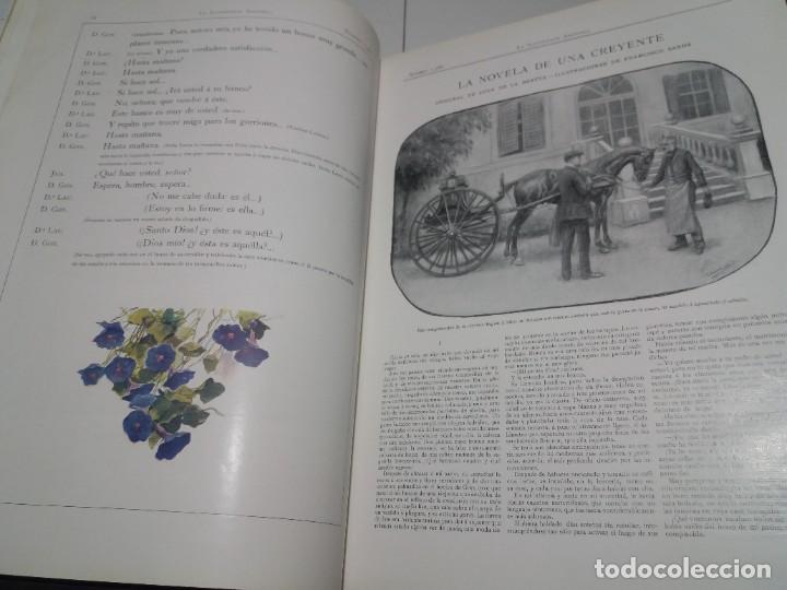 Libros antiguos: FABULOSO Y EXCEPCIONAL LIBRO ILUSTRACION ARTISTICA 110 AÑOS MONUMENTAL 40 cm - Foto 26 - 240999385