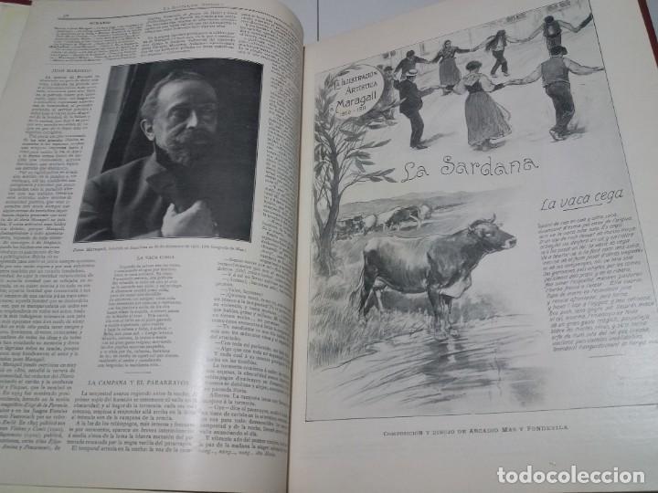 Libros antiguos: FABULOSO Y EXCEPCIONAL LIBRO ILUSTRACION ARTISTICA 110 AÑOS MONUMENTAL 40 cm - Foto 29 - 240999385