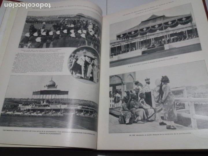 Libros antiguos: FABULOSO Y EXCEPCIONAL LIBRO ILUSTRACION ARTISTICA 110 AÑOS MONUMENTAL 40 cm - Foto 30 - 240999385